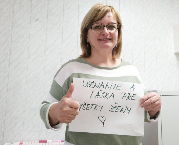 Jana Boďová, starostka Veľkého Čepčína.