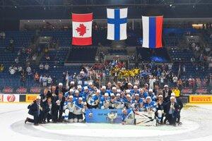Fínsko vyhralo MS v hokeji 2019 v Bratislave.