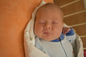 Tadeáš Gavenda (4050 g, 54 cm) sa narodil 17. decembra Natálii a Petrovi z Bánoviec nad Bebravou.
