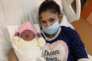 Prvé bábätko v košickej nemocnici v tomto roku.