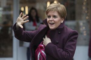 Škótska premiérka Nicola Sturgeonová chce svoju krajinu dostať späť do Únie.