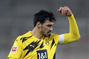 Mats Hummels v drese klubu Borussia Dortmund.