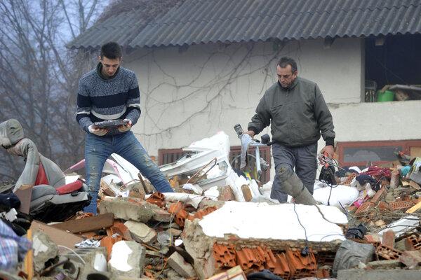 Zemetrasenie z konca decembra spôsobilo rozsiahle škody.