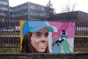 Svoju kresbu už má aj lyžiarka Petra Vlhová.