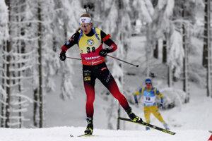 Nór Johannes Thingnes Bö vyhral šprint v nemeckom Oberhofe.
