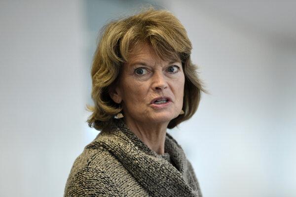 Republikánska senátorka Lisa Murkowská.