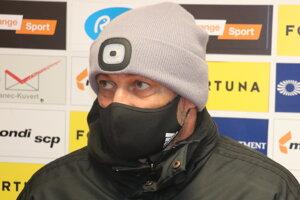 Tréner MFK Ružomberka Ján Haspra