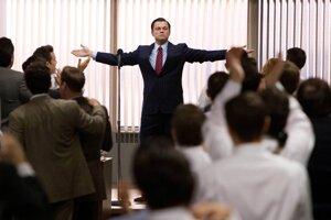 Záber z filmu The Wolf of Wall Street
