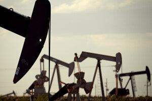 Ťažba ropy.