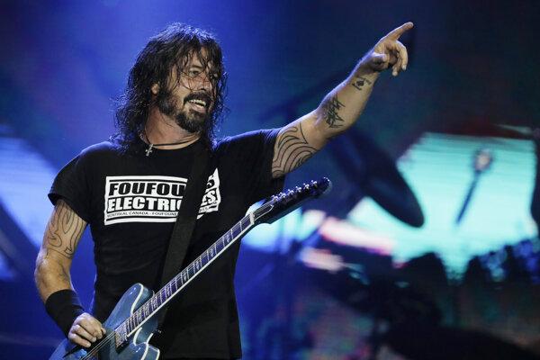 Dave Grohl z kapely Foo Fighters, ktorá 5. februára vydáva nový album.