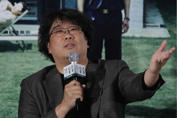Juhokórejský režisér Pong Čun-ho.