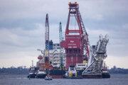 Špeciálne plavidlo používané na výstavbu plynovodu Nord Stream 2.