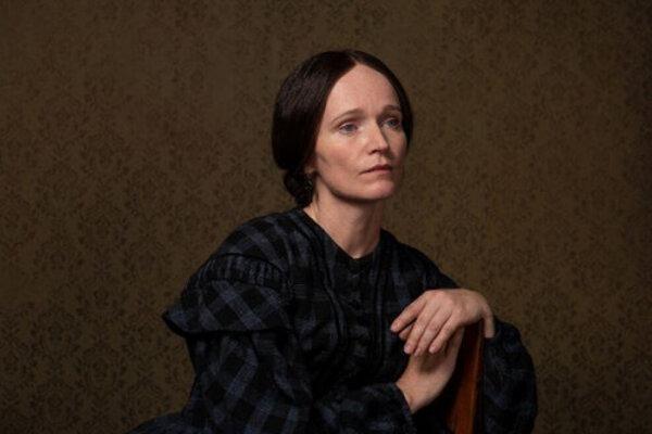 Aňa Geislerová ako Božena Němcová v seriáli Božena.