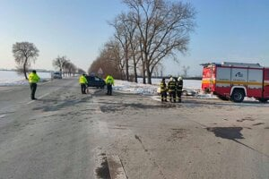 Na značke Stop nezastal 47-ročný vodič z okresu Michalovce.
