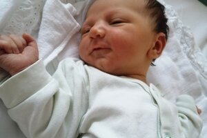 Lucas Ficka (3590 g, 52 cm) sa narodil 6. januára Gabriele a Radovanovi z Dubnice nad Váhom.