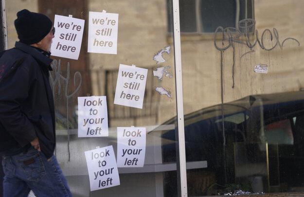Podniky v okolí štátnych budov v Denveri zápasia s dôsledkami pandémie a teraz aj s hrozbou násilia.