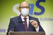 Vicepremiér a minister hospodárstva Richard Sulík (SaS).