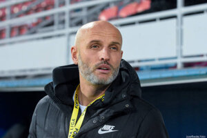 Nový tréner FC Nitra Peter Lérant.