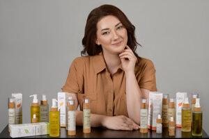 Martina Dudová vyrába v Humennom prírodnú kozmetiku Kvitok.