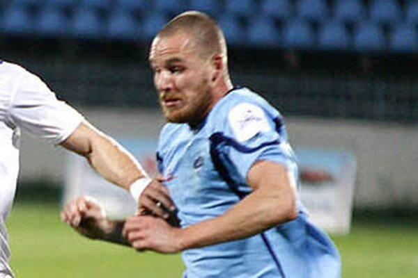 Český legionár Jiří Böhm stále čaká na prvý gól v drese Nitry.