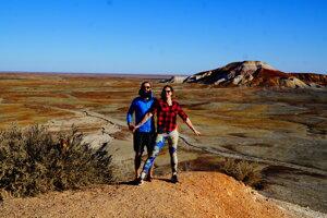 """The painted desert - alias """"maľovaná púšť""""."""