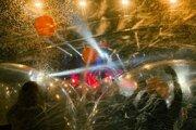 Koncert v bublinách