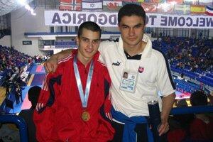 Ako tréner s Filipom Fogadom.