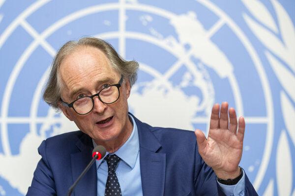 Vyslanec Organizácie Spojených národov pre Sýriu Geir Pedersen.