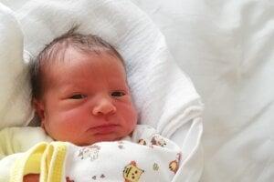 Eliška Belková (2810 g, 48 cm) sa narodila 8. januára Svetlane a Marekovi z Prús.