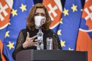 Splnomocnenkyňa vlády SR pre rómske komunity Andrea Bučková.