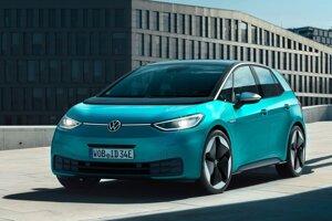 Elektrický Volkswagen ID.3 bol v decembri druhým najpredávanejším autom v Európe.
