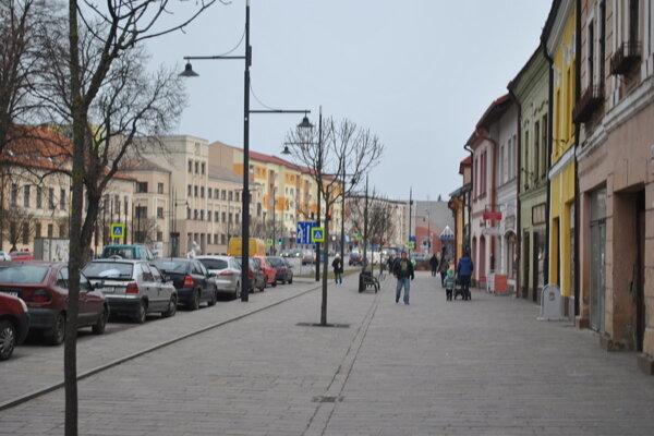 Mesto Sabinov.