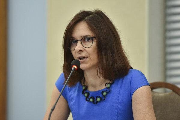 Kandidátka Zuzana Dlugošová.