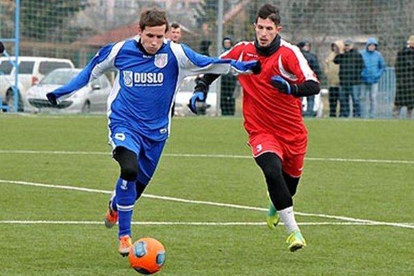 Snímka je z prípravného zápasu Šale so Sereďou.
