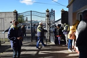 V Základnej škole na ulici Ivana Krasku tamojšiu komunitu už viackrát testovali.