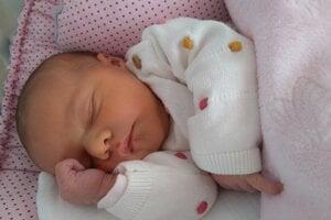 Valentínka Pijáková (3320g a 49cm) sa narodila 21.januára Kataríne a Martinovi z Červeného Kameňa