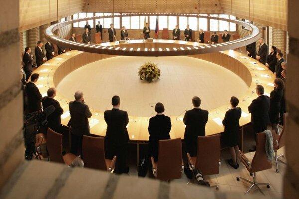 Zasadnutie lichtenštajnského palrlamentu. Archívna snímka