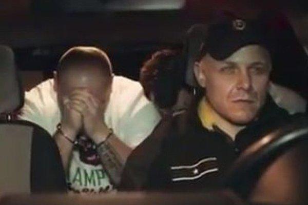 Záber z videoklipu.