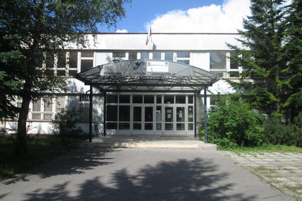 Gymnázium Jozefa Lettricha v Martine.