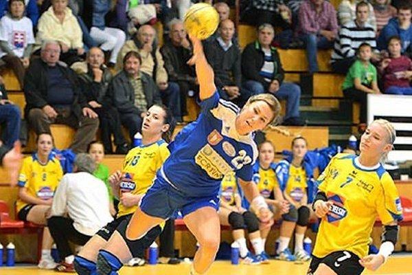 Lucia Súkenníková patrila k ťahúnkam tímu Dusla v sobotu.