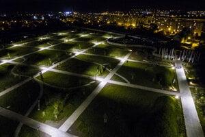 Cintorín na sídlisku Šváby v Prešove.
