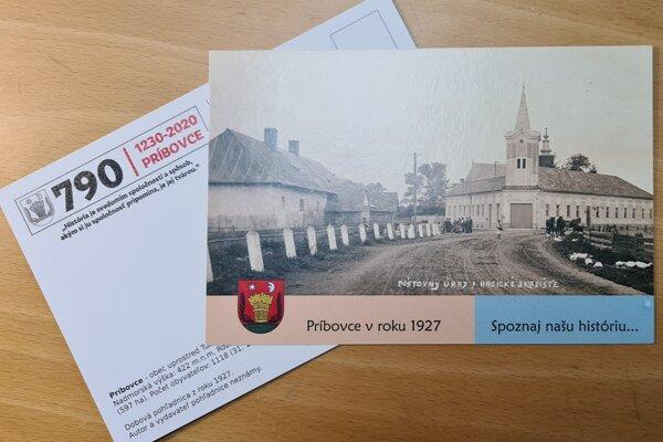 V Príbovciach sa tešia novej pohľadnici po pätnástich rokoch. Odráža históriu.