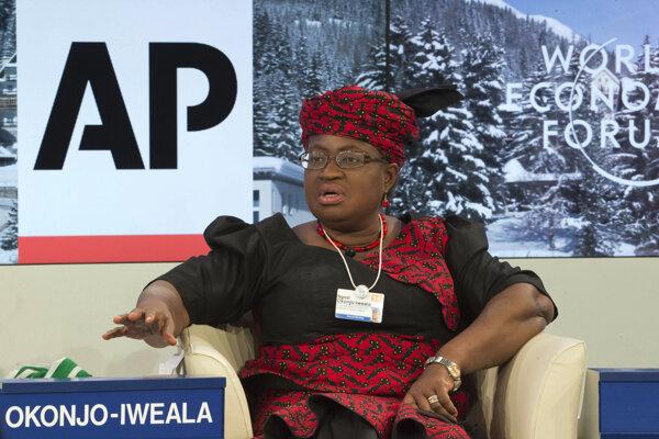 Šéfka Svetovej obchodnej organizácie Ngozi Okonjo-Iwealaová.