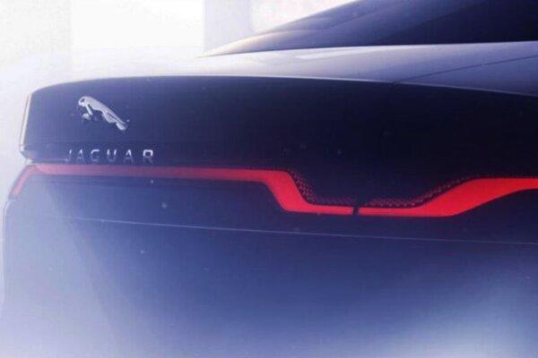 Upútavka na nový elektrický Jaguar XJ, ktorý nakoniec už nepríde.