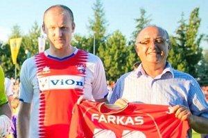 Peter Farkaš má v Corgoň lige odohraných viac ako 100 zápasov.