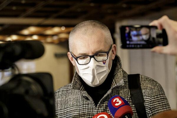 Poslanec Miroslav Kollár.