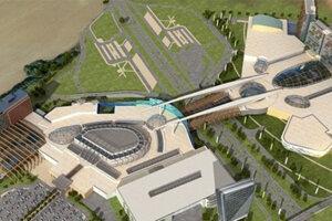 Vizualizácia projektu Metropolis z roku 2009.