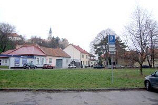 Pozemok na Podzámskej ulici.