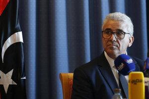 Líbyjský minister vnútra Fathí Bašagha.