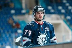 Libor Hudáček v drese HC Neftechimik Nižnekamsk.